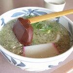里のうどん - バラ丼セット(900円)・たぬきウドンハーフ 11.05.03.
