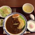 Chuugokuryourisui - 翠式咖喱炒飯、780円