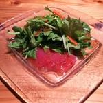 酒菜と大和だし茶漬け 風神 - 本日のカルパッチョ(480円)