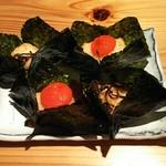 酒菜と大和だし茶漬け 風神 - もちもち大和いもの磯辺揚げ(580円)