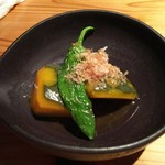 酒菜と大和だし茶漬け 風神 - 向井さんちのお野菜の煮物(450円)