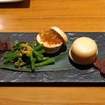 AU GAMIN DE TOKIO - あん肝、奈良漬け最中
