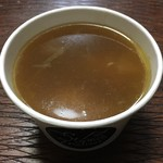 スタンドマチネ - 鶏つみれのスープ 500円