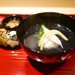 77412768 - 煮物碗 松葉蟹真丈と大根