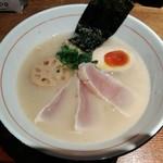 77412814 - 「濃厚魚介そば・新味」966円
