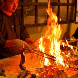 漁師もお薦めする魚介類の美味しい食べ方「原始焼き」