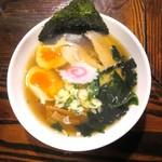 拉麺盛場 - 料理写真:ミニラーメン+味付玉子