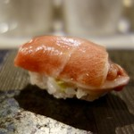 NARUMI - [2017/11]寿司⑥ まぐろの大とろの握り