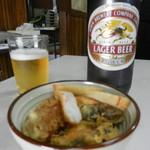 なかや - 料理写真:ビール&おつまみ
