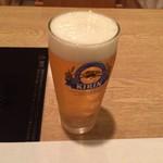 飛騨牛かわい - 生ビール