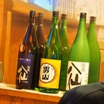 みなと食堂 - 八戸の地酒「陸奥八仙」