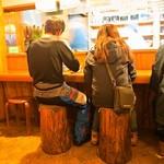 みなと食堂 - カウンター席