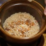 竹千代 - 香箱蟹の炊き込みご飯