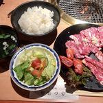 おおつか - 料理写真:カルビ盛合せランチボリュームアップ1620円