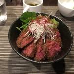 carnegico - 赤身ステーキ丼