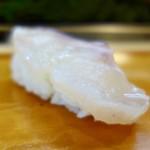 福寿司 - [2017/11]特上寿司(3800円)・真鯛の握り