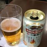 光陽楼 - 缶ビール 360円