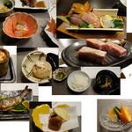 高千穂 離れの宿 神隠れ - 料理写真:夕食綜覧
