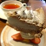 ブンブン紅茶店 - 紅茶とケーキのセット♡