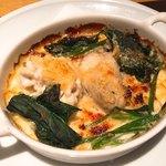 Romantico - 牡蠣、白子、ほうれん草のオーブン焼き