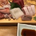 天金 - お刺身盛(竹)1,500円