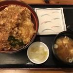天金 - ランチ 天丼900円