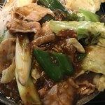 仲達 - 豚肉とキャベツの四川味噌炒め  ネージャンさん