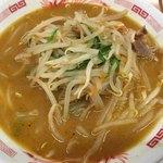 日高屋 - 料理写真:味噌ラーメン(500円)