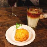 カフェ シャルボン - かぼちゃのスコーン