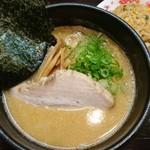 らあめん がんてつ - 味噌らあめん半炒飯セット(980円)