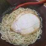 イツワ製麺所食堂 - 2017年11月 塩つけ麺(温)+わかめ 750+150円