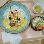 レストランカフェ・地球こうさてん - アヒ・デ・ガジーナ 750円