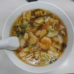 華蓮 - 料理写真:2017年11月 五目うま煮そば 850円