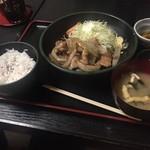 おかん - 生姜焼定食 930円