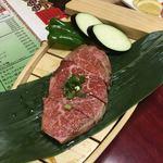 焼肉の幸加園 - 肉の王様(ヒレ)タレ
