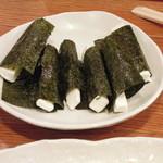 酒蔵 呑 - クリームチーズ海藻巻き