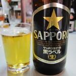 平尾酒店 - ビール大瓶:370円