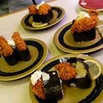はま寿司 - 寝てます:牡蠣フライ軍艦