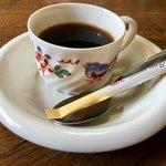伊勢利 - ランチには コーヒーが 付きます