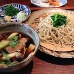 そば処 古庵 - 鴨南そば(1300円)