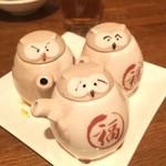 小皿中華のワインバル 悠龍 - テーブル調味料