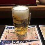 ばーみやん軒 - 中ジョッキ 299円税別