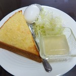 みなと茶屋 - モーニングサービス!