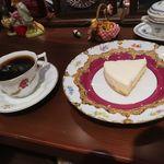 アメ横ダンケ - バターブレンドカフェとチーズケーキ
