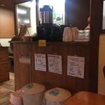 ベーカリー&カフェ キクチヤ - 2017年12月。局アナの色紙イロイロ。