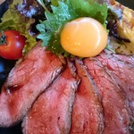 鎌倉やさいとRiche - ローストビーフ丼