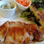 鎌倉やさいとRiche - ポークも野菜も美味しいですね