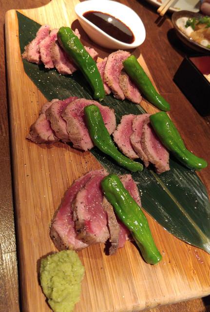 蔵内 馬ノ丈 - 【馬一頭喰いコース】7 馬肉のステーキ