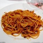 炭火ステーキキッチン&バル - ボロネーズソース スパゲッティ(取り分けました)