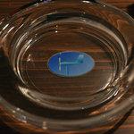 いるか喫茶バー - ロゴマークが入った灰皿